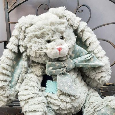 Игрушка заяц 25 см